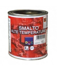 SMALTO ALTE TEMPERATURE 0,375 lt -  NERO SATINATO