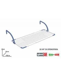 STENDIBIANCHERIA PER BALCONEBREZZA EXTEND - 116 ÷ 192 cm