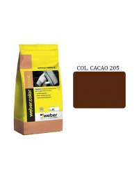 WEBERCOLOR BASIC : COLLA FUGHE 205 CACAO