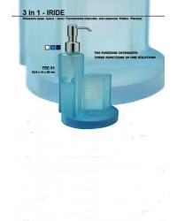 DISPENSER COMBINATO CELESTE SERIE 3 IN 1