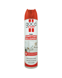 DISINFETTANTE MULTISUPERFICE SPRAY GOOD & SANY 300ML
