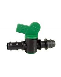 ALA GOCCIOLANTE: RUBINETTO VDP ø16 mm con innesto a pressione e portagomma