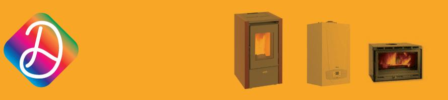 Stufe, climatizzatori, caldaie e accessori
